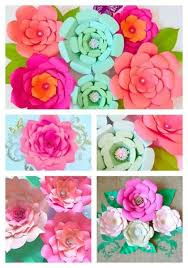 Paper Flower How To Make Easy Diy Giant Paper Flowers Hometalk