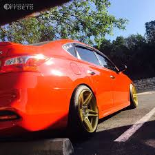 custom nissan sentra 2016 wheel offset 2016 nissan sentra nearly flush coilovers