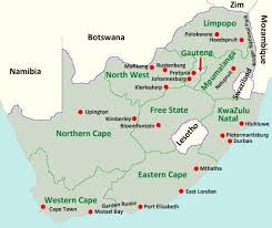 map of south africa maps of south africa south africa