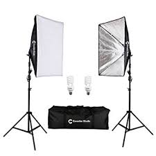 Photography Lighting Canadianstudio Pro Rapid Softbox Continuous Lighting Kit For