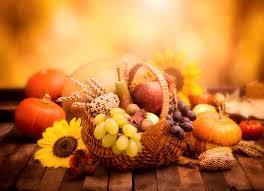 autumn pumpkin wallpaper autumn pumpkin grapes wicker basket food 4589x3320