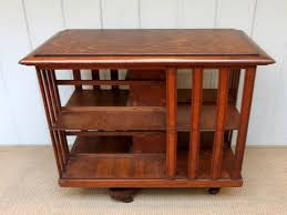 Revolving Bookcases Revolving Bookcase Leather Top Revolving Bookcase Antique