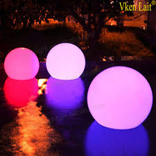 floating pool ball lights led decorations floating pool decoration led glow ball with led