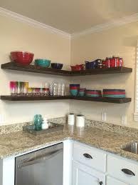 Kitchen Corner Shelf by Es Ea Kitchen Corner Shelves L Shape 3 Barnwood Designs Ny
