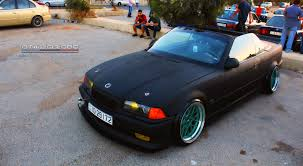 matte bmw bmw e36 matte black convertible by ammarov on deviantart