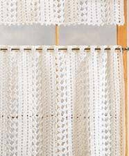 Free Curtain Sewing Patterns More Curtains And Valances To Crochet U2013 14 Free Patterns