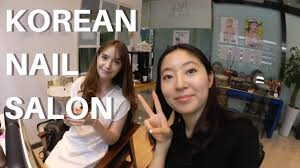 korea vlog korean nail salon u0026 shopping in gaeksa jeonju youtube