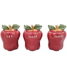 red kitchen canisters u2013 kitchen ideas