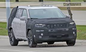wagoneer jeep 2016 2019 jeep yuntu plug in hybrid spied news car and driver