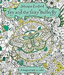 johanna basford newest coloring book ivy inky butterfly