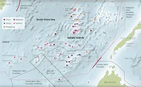 sea of map territorial claims in south china sea map nytimes com