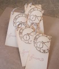 wedding clocks gifts wedding wish tree tags vintage clock gift favors sted