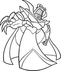 zurg toy story coloring coloring