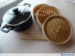 cuisine vapeur asiatique cuisine vapeur asiatique neuf 6 pièces casserole et bambou a