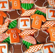 football cookies decorated cookies pinterest football