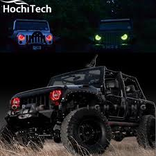2012 jeep wrangler headlights aliexpress com buy for jeep wrangler rgb led headlight halo