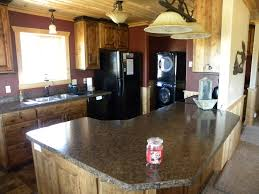 West Island Kitchen Copper Pond West Island Park Idaho Yellowstone Cabin Rental Sleeps 8