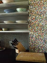 accent piece with pencil edge mosaic kitchen tile appliques
