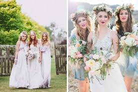 watercolor bridesmaid dresses all the possibilities of a watercolor wedding tatters