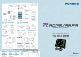radar arpa for ships with ecdis fea 2107 2807 furuno deepsea