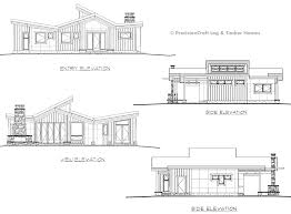 Timber Home Floor Plans by Coldwater Single Level Timber Cabin