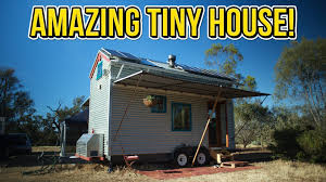 amazing off the grid tiny house on wheels youtube