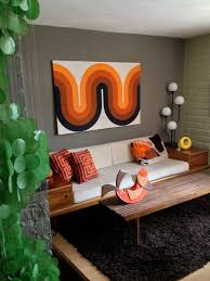 Pic Of Home Decoration Best 25 Orange Home Decor Ideas On Pinterest Décoration De