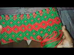 youtube cara membuat tas rajut dari tali kur skill membuat tas rajut tali kur motif kerang warna warni from