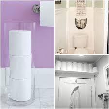 Bathroom Tissue Storage Nifty Ways To Store Toilet Paper