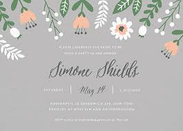 bridal shower invitation bridal shower invites mailed for you postable
