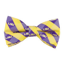 Lsu Garden Flag Lsu Bow Tie Check Pattern We U0027re Good Sports