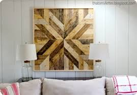 square wood wall decor planked wood quilt square wall