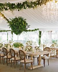 wedding reception tables 47 hanging wedding décor ideas martha stewart weddings