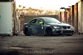 bmw stanced stance works feature on liberty walk e92 m3 by ltmw