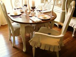 Dining Chair Covers With Arms Simple Dining Room Chair Slipcovers Make Dining Room Chair