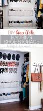 best 25 hanging shoe storage ideas on pinterest shoe rack b u0026q