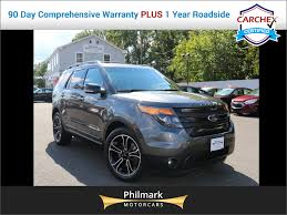 Ford Explorer Sport - 2015 used ford explorer sport navigation rear view cam panoramic