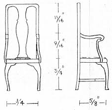Armchair Measurements Modelcraft Ltd Designs For Dolls Houses And Dolls House Furniture
