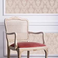 damask modern classic champagne pearl removable wallpaper kathy