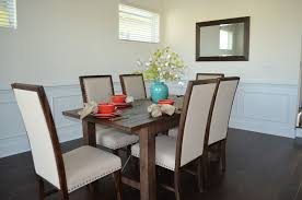 Sumptuous Octagon Dining Table In Dining Room Transitional With - Dining room staging