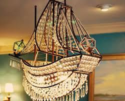 Ship Light Fixture Clipper Chandelier Hanging In The White Inn In