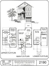 5 plex 15 u0027 wide unit and have 1 car garage apartment house plan
