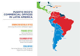 Puerto Rico World Map by Our Agencies