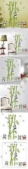 13 best muurstickers babykamer images on pinterest baby room splendid home decor mural vinyl wall sticker removable cute panda eating bamboo room wallpaper decorative art
