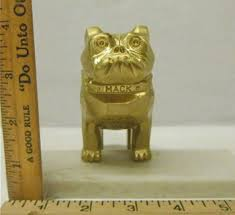 free mack truck bulldog ornament gold plated patent