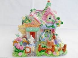 Easter Restaurant Decorations by 92 Best Easter Villages Images On Pinterest Bunny Easter Bunny