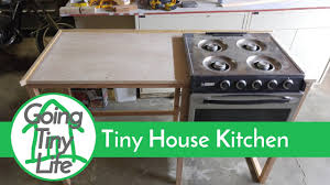 Tiny House Kitchen by Tiny House Build Kitchen Build Update Youtube