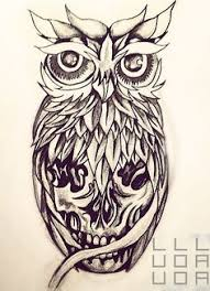 designed this owl tattoo for jared crosswell notice the subtle