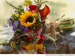 Wedding Flowers Budget Autumn Sunflower Bouquet Ideas For A Budget Wedding Bouquet Made