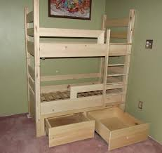 Free Downloadable Bunk Bed Woodworking Plans by Toddler Bunk Bed Plans Ana White Toddler Size Loft Bed Diy